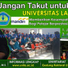 Membuat Desain Billboard Universitas Lampung