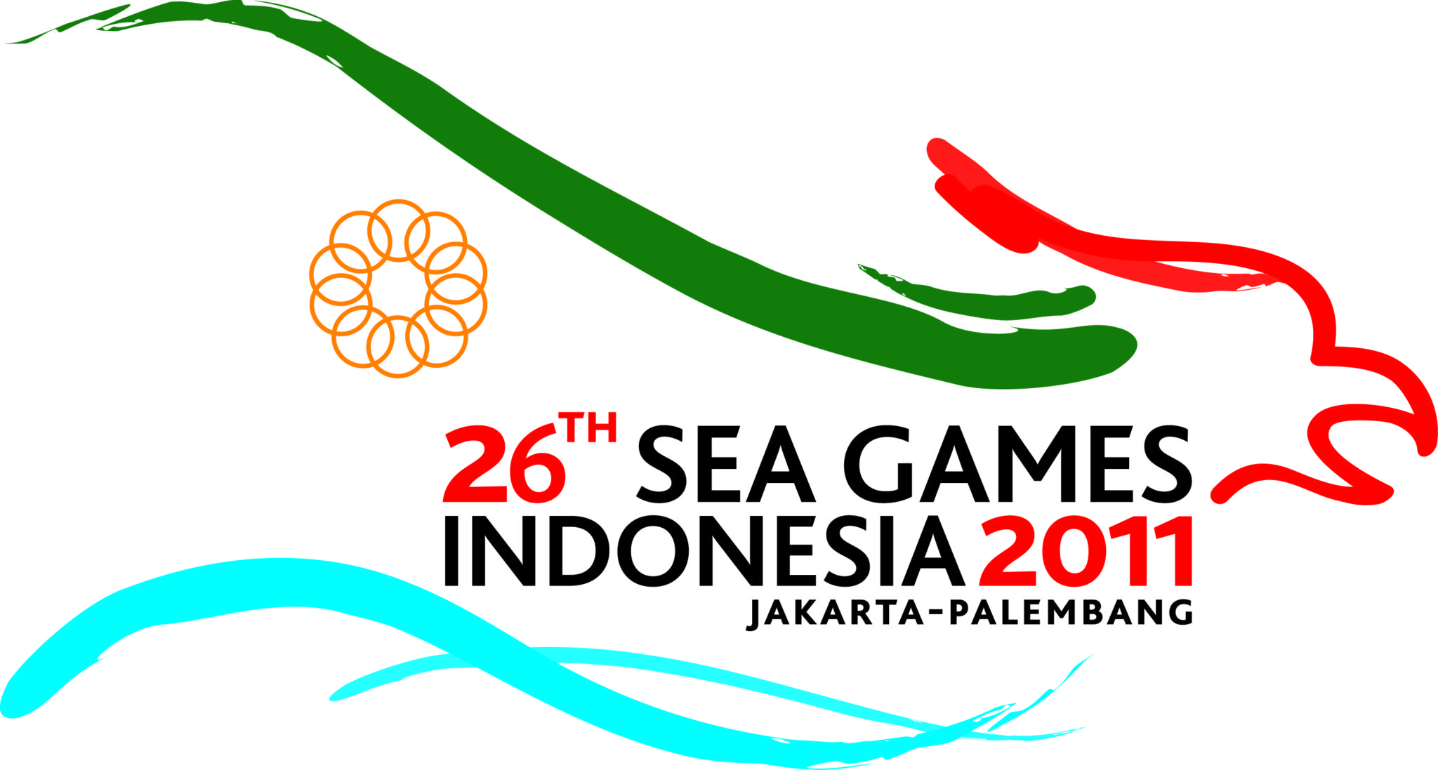 Logo SEA Games 26th Indonesia 2011