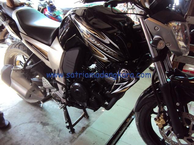 Variasi Standart Motor Yamaha Byson, Sebelum cover engine dipasang