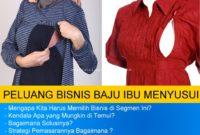 Mulai Bisnis Baju Menyusui