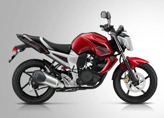 Motor Yamaha Byson Warna Merah