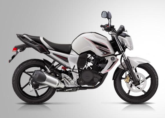 Motor Yamaha Byson Warna putih