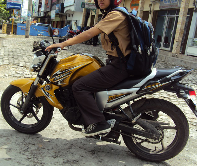 Yamaha Byson Emas Hadir di Bandar Lampung