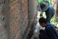 Persiapan Pekerjaan Plesteran Dinding Bata